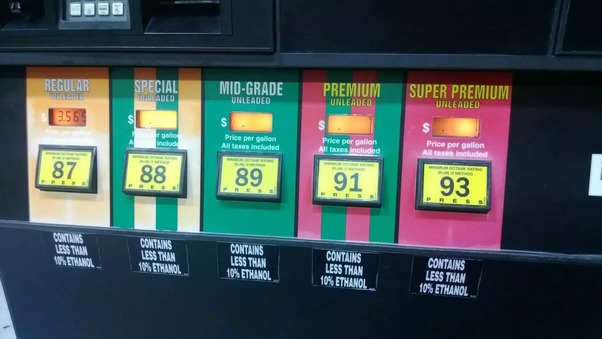 What happens when you mix gasoline of different octanes? - Quora