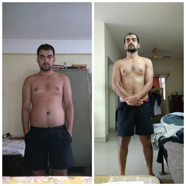 how to reduce 15kg in one month