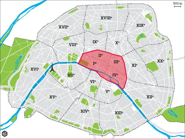 what are the different arrondissements in paris quora. Black Bedroom Furniture Sets. Home Design Ideas