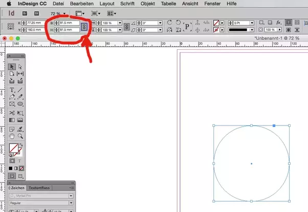 How to place text inside a circle in InDesign - Quora