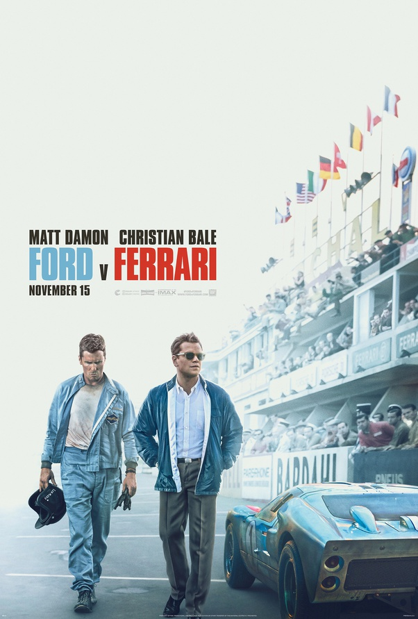 Where Can I Watch The Movie Ford V Ferrari Online Quora