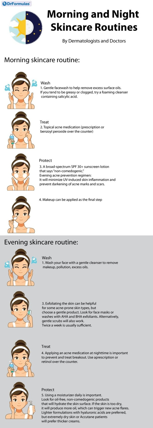 Do You Apply Acne Treatment Before Or After Moisturizer Quora