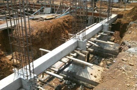 Image result for foundation construction
