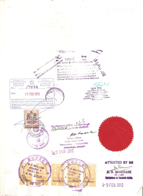 What Is The Process For A Birth Certificate Apostille Or Attestation