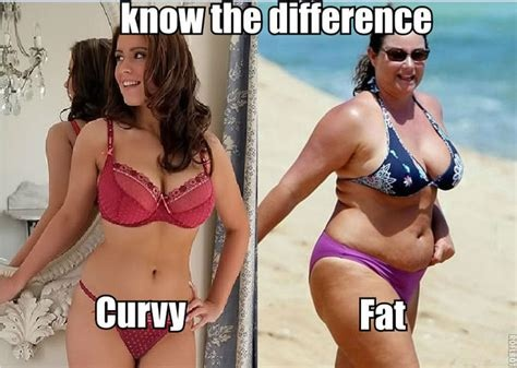 chubby Difference and fat between