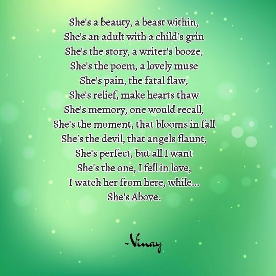 The Best Poem For A Girl