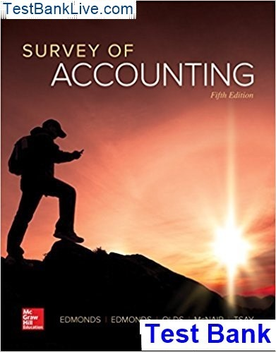 Where can I get A Survey of Accounting: the 5th Edition