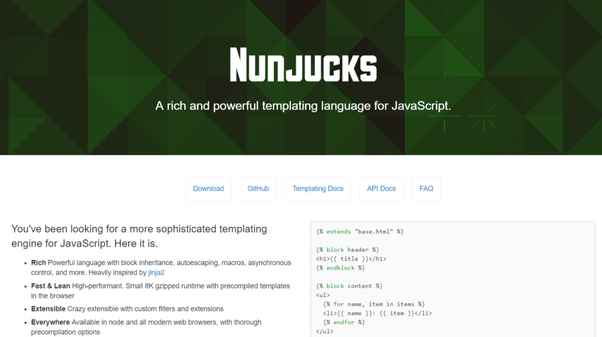 What is the best Node js template engine? - Quora