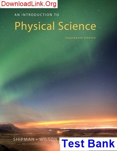 Physical Science Pdf
