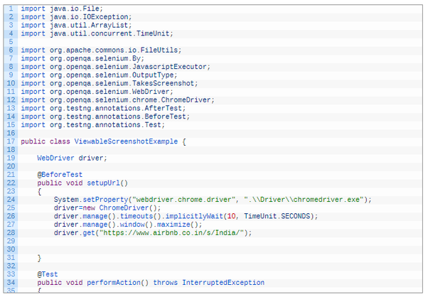 How to use Selenium WebDriver to take full page screenshots