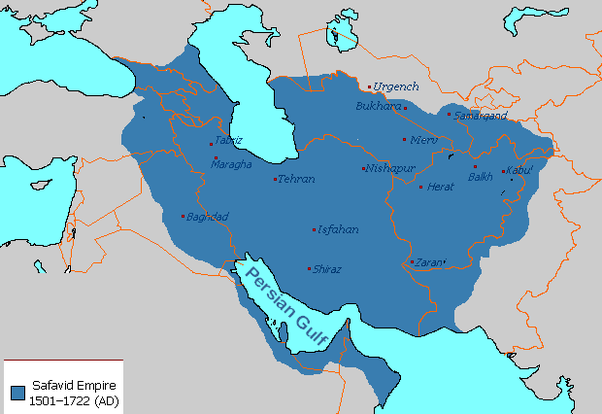 How even was the balance of power between safavid empire iran and and apparently nobody likes to make maps of an empires smallest territorial extent here is how far into persia the ottomans expanded gumiabroncs Images