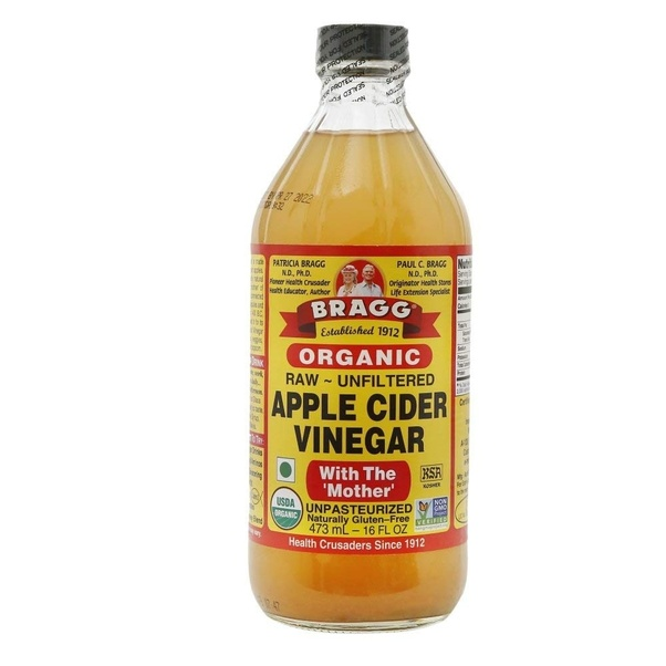 Which brand of apple cider vinegar is available in India