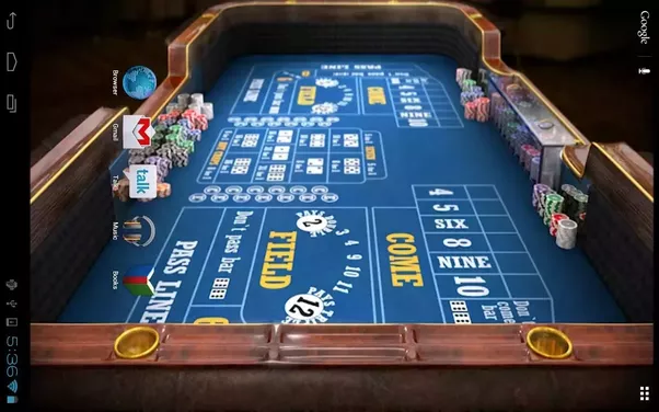 casino game types of games