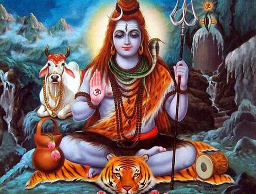 Why does Lord Shiva use tiger skin to wear, to sit in Hindu culture