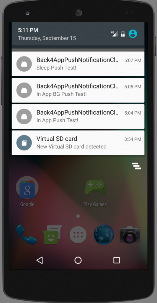 how to stop push notification in android