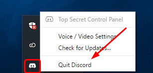 Why is my mic suddenly not working on discord when I did