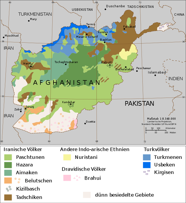 What is Afghanistans main language What is its historical