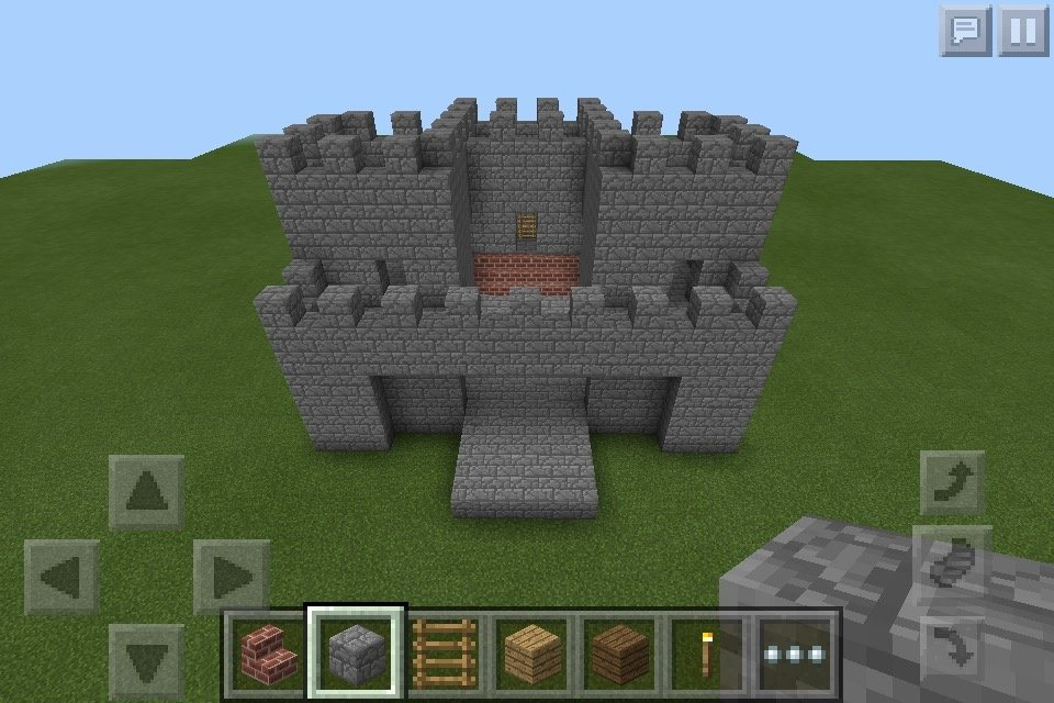 How To Build A Castle In Minecraft Quora