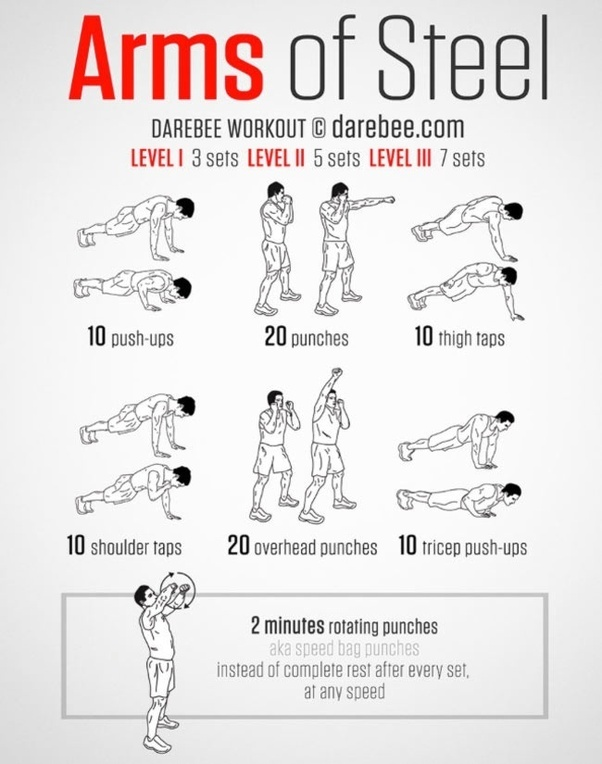 First Try These Exercises Without Weights Then Move On To Some Weight Training