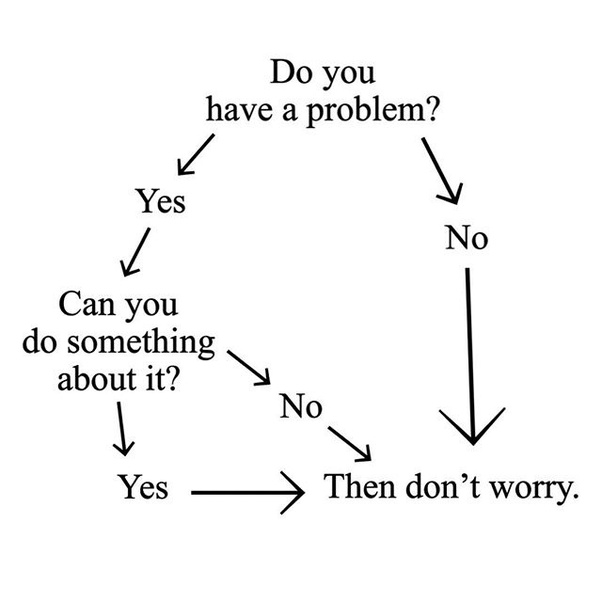 What advice would you give to someone who worries a lot? - Quora