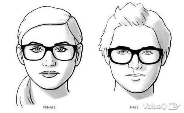What type of spectacles look good on round faces? - Quora