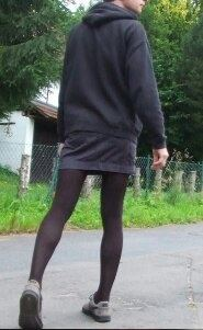Being a pantyhose man