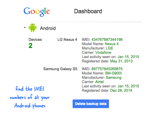 Can I Locate My Lost Invoice Through My IMEI Number Quora - Mobile phone invoice