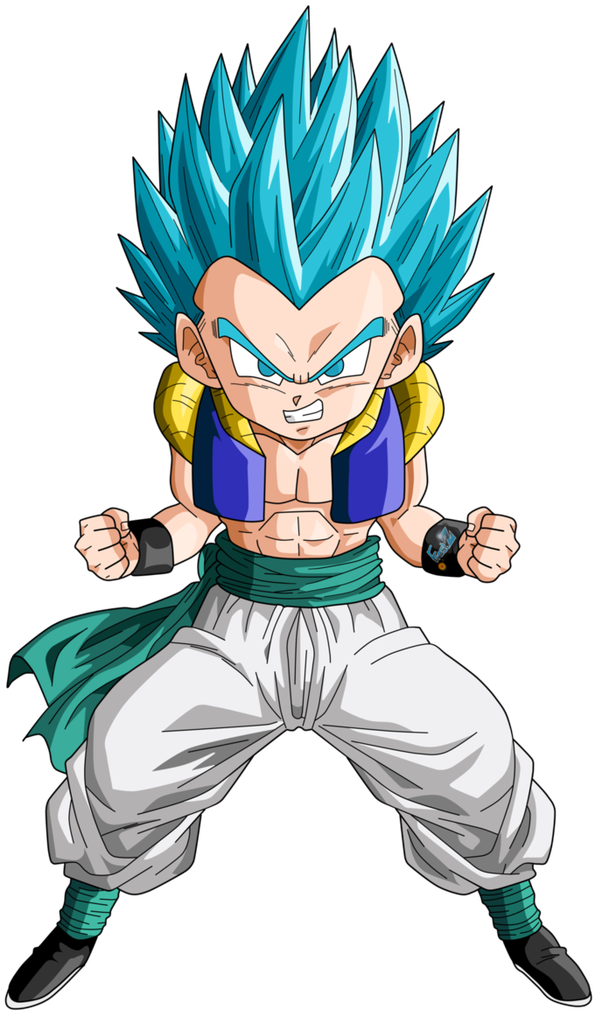 What would Super Saiyan Blue Gotenks look like? - Quora