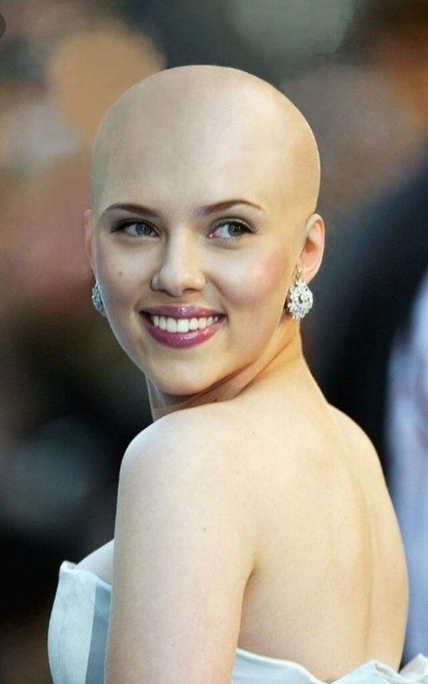 Hot women with shaved heads