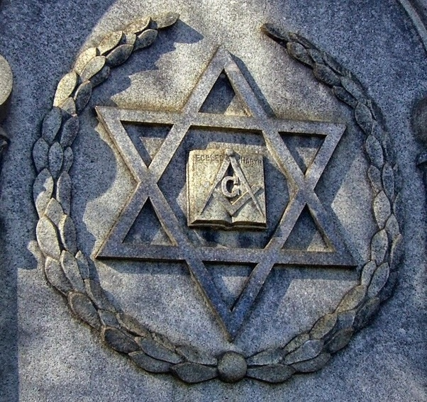 What are some secrets the masons know quora star of david with the symbol of freemason m4hsunfo