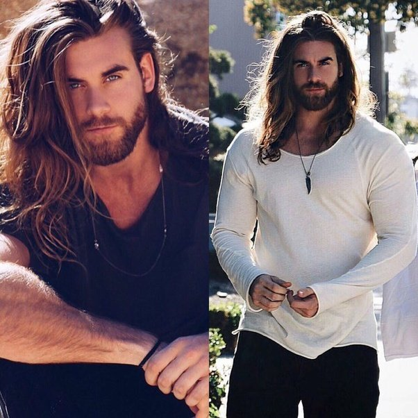 ways to style long hair for guys is there a way to tell if hair will look on me 6943 | main qimg 4502d8e44098bda2fe68b8394067c54b c