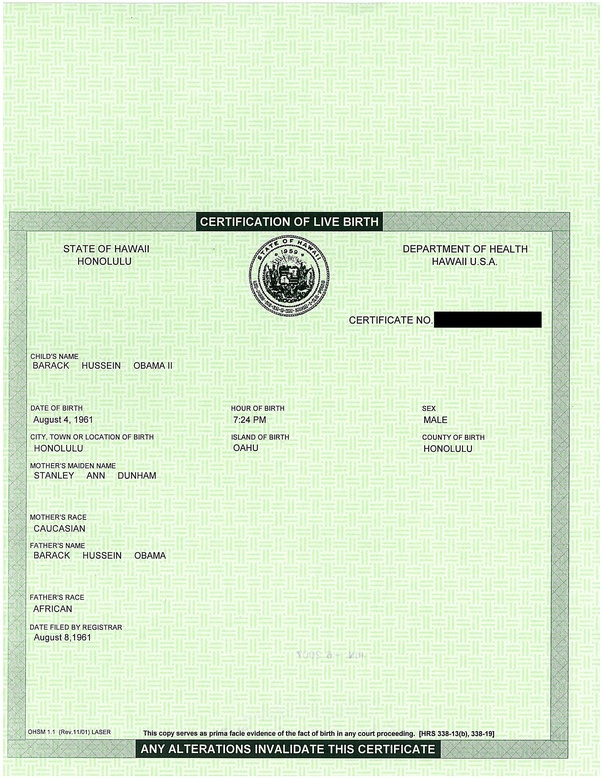 What Is An Abstract Birth Certificate Quora