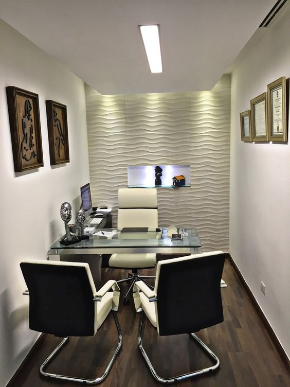 Hi To All, I Need This Interior For This Much Office Space, Can You Give Me  Cost With Detailed Elements.
