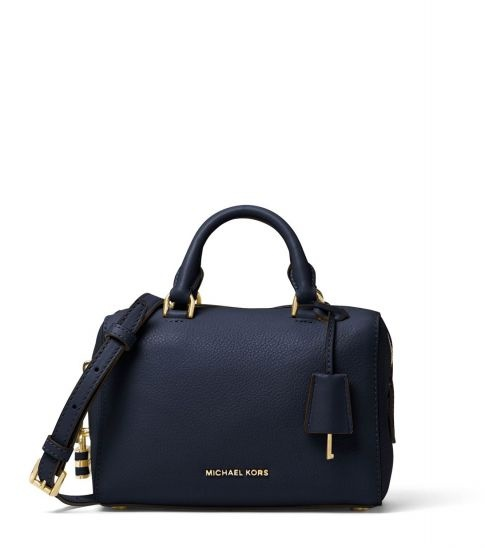 cef9b24891 Michael Kors Navy Kirby Mini Satchel. Coach  One of the biggest bags ...