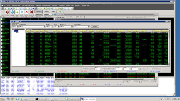 Algorithmic options trading software