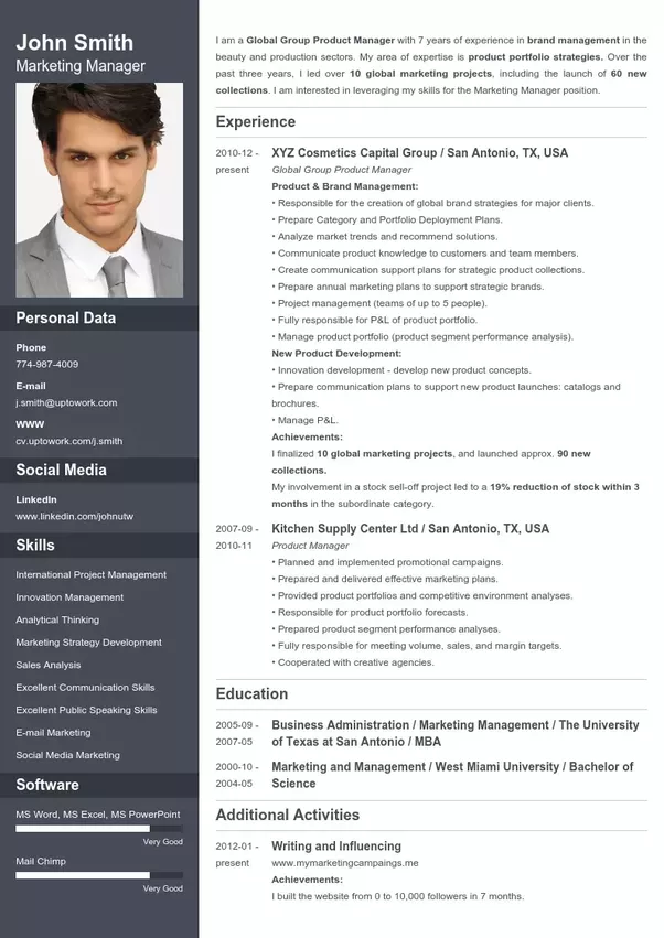 what is the best website to make a cv
