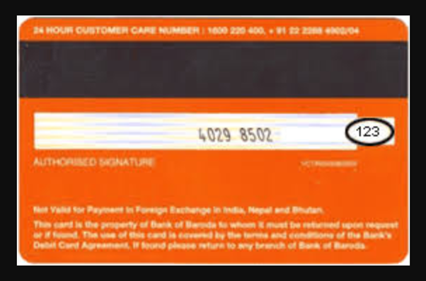Rupay Of Cvv - To My Debit Baroda Find Card How Quora Bank