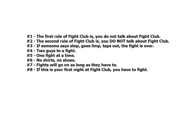 What is so great about Fight Club? - Quora