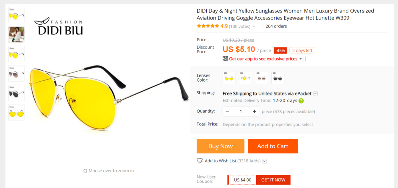 7d800f11516e What products on Aliexpress can I dropship with 300-400% profit ...