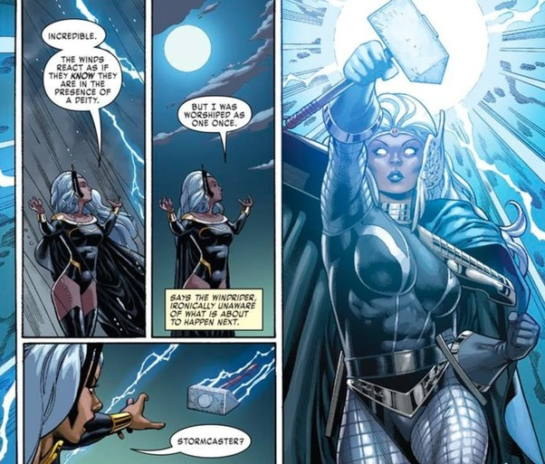 Thor and storm dating quotes