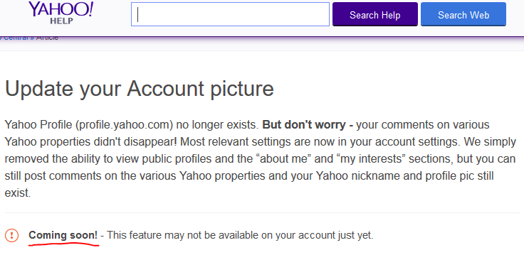How to change picture on Yahoo! Mail - Quora