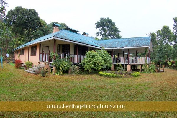 A Classic Example Of Bengali Bungalow The Floorage Is On One Level And Parts Verandah Ie Roof Platform Porch Outside House Built