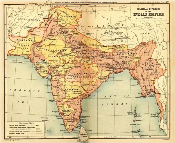 Why is myanmar not a part of india quora as can be seen burma is included within the boundaries of british india gumiabroncs Image collections