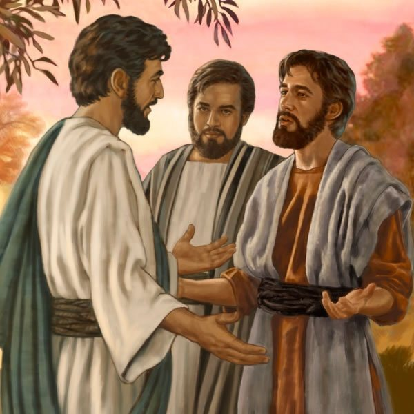 Image result for Jesus told the disciples about john the baptist
