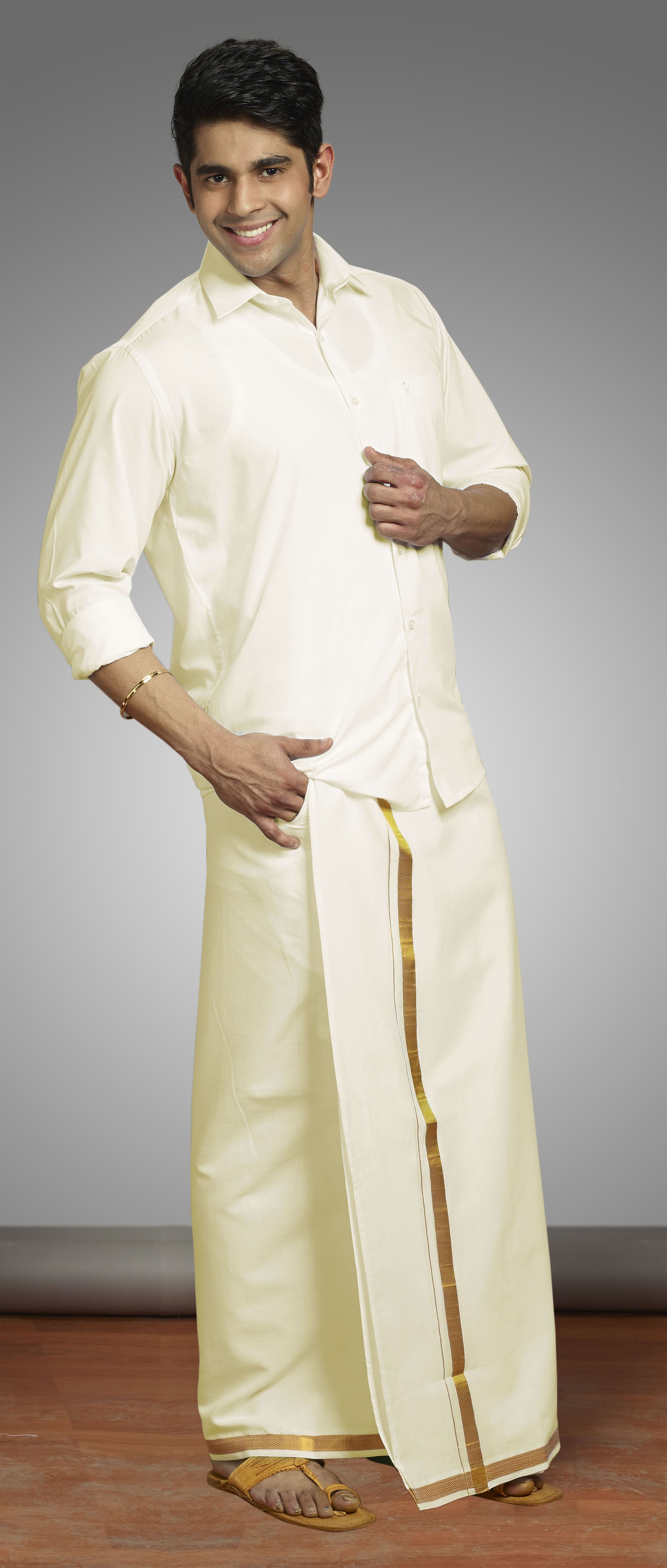 d7eb82c501 This is the traditional wedding attire of Kerala men, which is probably why  I have an affinity towards it. Moreover, this attire officially gets you  into ...