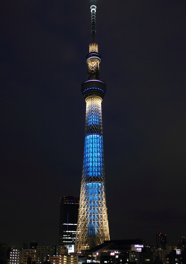 One Of The Tallest Buildings In This World, The Tokyo Skytree Is The Newest  Landmark And Attraction In Tokyo. The Tower Is The Residence Of Primary ...