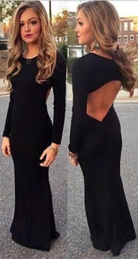 Hair for Backless Dress