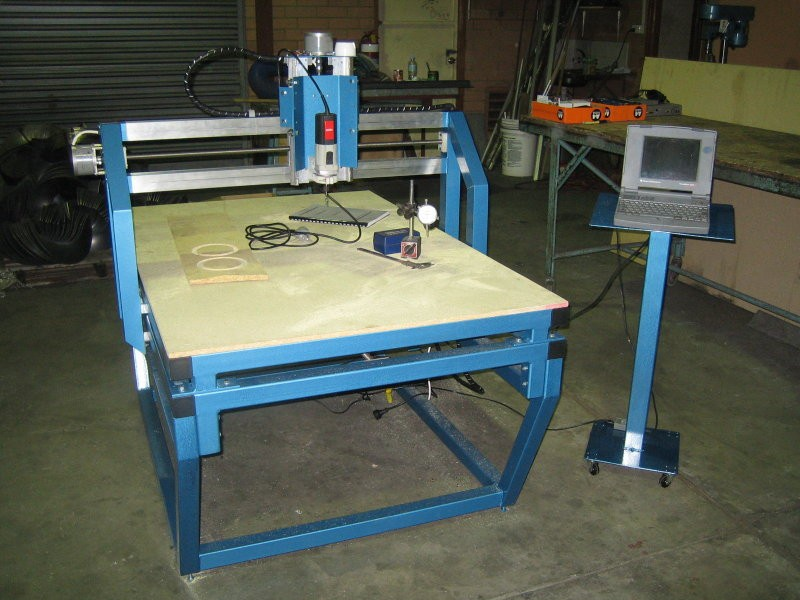 build an Industrial CNC milling machine