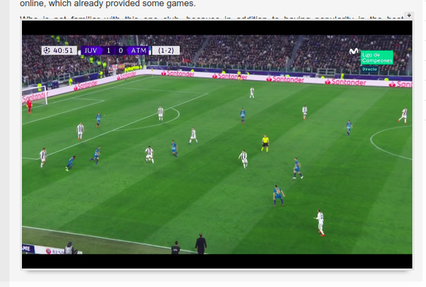 Which are the best websites to watch live football matches