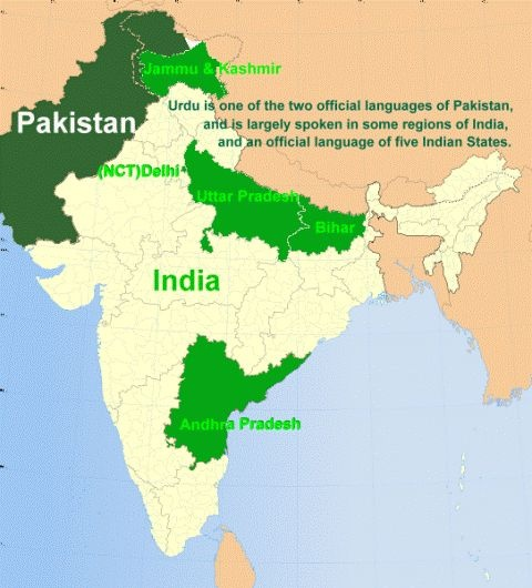 What are some interesting facts about urdu language quora urdu is widely spoken in pakistan being its official language parts of india and in many parts of south asia urdu is distinguished slightly from hindi in gumiabroncs Image collections